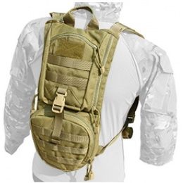 AMA Airsoft Abush QD Hydration Backpack - KHAKI