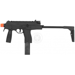KWA KMP9 Gas Blowback Airsoft SMG Submachine Gun - BLACK