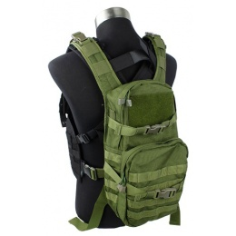 AMA Airsoft MOLLE RRV Backpack - OD GREEN