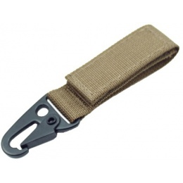 AMA Airsoft Hook and Loop Shackle - KHAKI