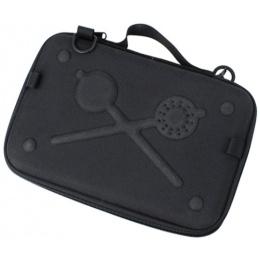 AMA Tactical Airsoft Light Weight EVA Pistol Case - BLACK