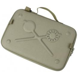 AMA Tactical Airsoft Light Weight EVA Pistol Case - DARK EARTH