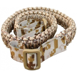 AMA Tactical Airsoft Paracord Survival Bracelet - DESERT DIGITAL