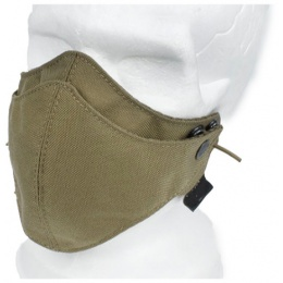 AMA Tactical Protective Safety Half Face Mask - KHAKI