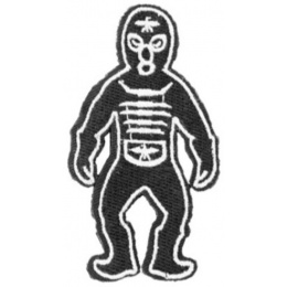 AMA Ultraman Monsters Hook and Loop Morale Patch - BLACK