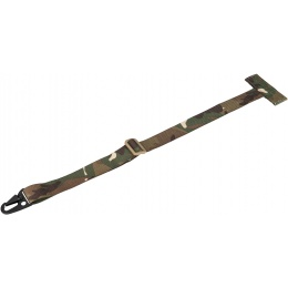 AMA Tactical MOLLE Attachment Sling w/ Buckle Clip - CAMO