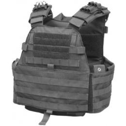 AMA EG Cordura Tactical Assault Plate Carrier - BLACK