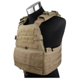 AMA EG Cordura Tactical Assault Vest - COYOTE BROWN