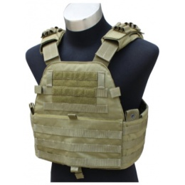 AMA EG Cordura Tactical Assault Vest - KHAKI