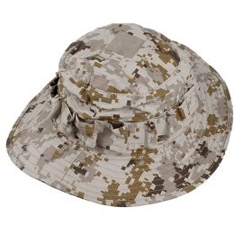 AMA Tactical Boonie Hat w/ MOLLE - DESERT DIGITAL