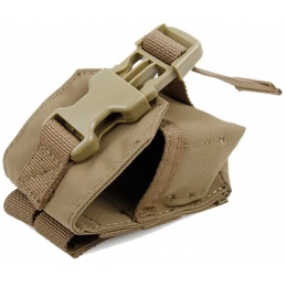 AMA Airsoft Spartan Grenade Pouch - COYOTE BROWN