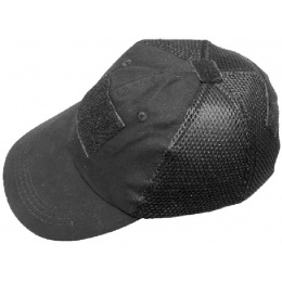 AMA Adjustable Tactical Mesh Team Cap - BLACK