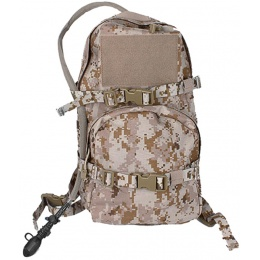 AMA 1000D Cordura Modular Assault Pack w/ 3L  Bladder - DESERT DIGITAL