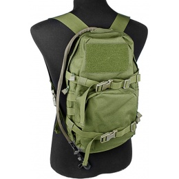 AMA 1000D Cordura Modular Assault Pack w/ 3L Hydration Bladder - OD GREEN