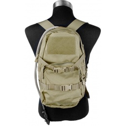 AMA 1000D Cordura Modular Assault Pack w/ 3L Hydration Bladder - KHAKI
