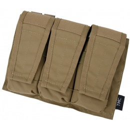 AMA Adaptive Vest System M4/M16 Triple Mag Pouch - COYOTE BROWN