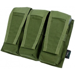 AMA Adaptive Vest System M4/M16 Triple Mag Pouch - OLIVE DRAB GREEN