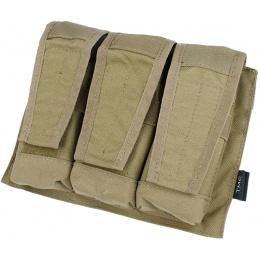 AMA 500D Adaptive Vest System M4/M16 Triple Mag Pouch - KHAKI