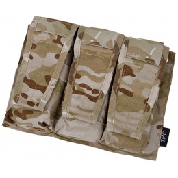 AMA Adaptive Vest System M4/M16 Triple Mag Pouch - CAMO DESERT