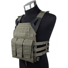AMA 1000D  Plate Carrier Dummy Plates Mag Pouches - RANGER GREEN