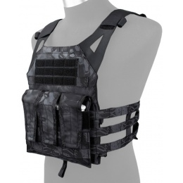 AMA Airsoft 1000D Plate Carrier w/ Dummy Plates Mag Pouches - TYP