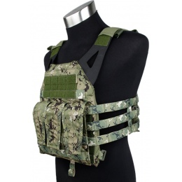 AMA 1000D Plate Carrier Plates Mag Pouches - WOODLAND DIGITAL