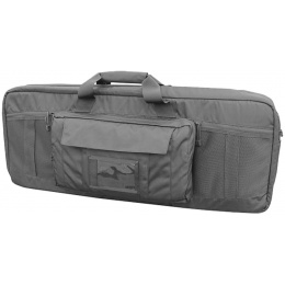 AMA Covert 36-inch Double Rifle Carrying Case Zippered Pouch - BLACK
