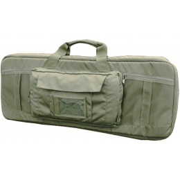 AMA Covert 36-inch Double Rifle Carrying Case Zippered Pouch - OD GREEN