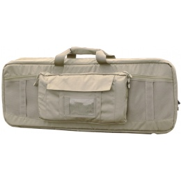 AMA Covert 36-inch Double Rifle Carrying Case Zippered Pouch - KHAKI
