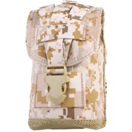 AMA MLCS Tactical Canteen Pouch w/ Protective Insert - DESERT DIGITAL
