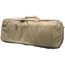 AMA Covert 36-in Carbine Mesh Carrying Case Ruck Straps - COYOTE BROWN