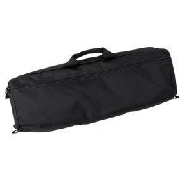 AMA Transporter 26-inch Single Q/D Strap MOLLE Rifle Soft Case - BLACK