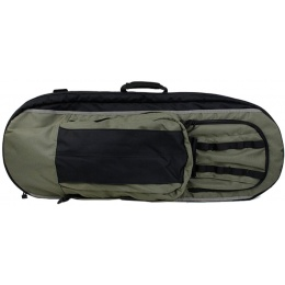 AMA 500 Denier Tear-Resistant Nylon Covert M4/M16 Rifle Case - BLACK