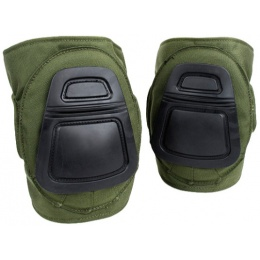 AMA 500 Denier Nylon Fabric Tactical DNI Knee Pad Set - OLIVE DRAB GREEN