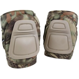 AMA 500 Denier Nylon Fabric Adjustable Tactical DNI Knee Pad Set - MAD