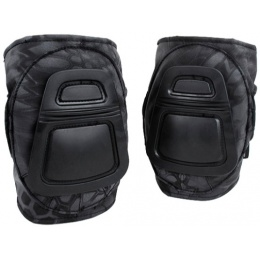 AMA 500 Denier Nylon Fabric Adjustable Tactical DNI Knee Pad Set - TYP
