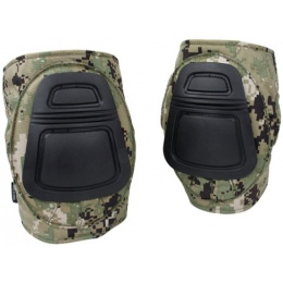 AMA 500 Denier Nylon Fabric Adjustable Tactical DNI Knee Pad Set - WD