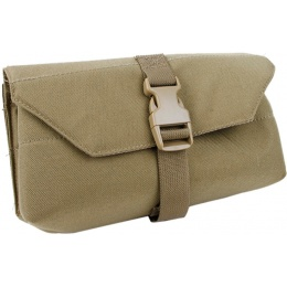 AMA 500D Nylon Tactical MOLLE Admin Pouch for GPNVG18 - COYOTE BROWN