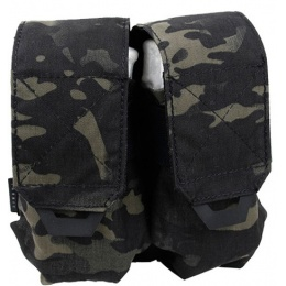 AMA Tactical QUOP Double Magazine Pouch - CAMO BLACK