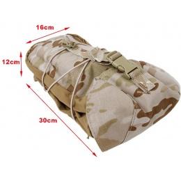 AMA Tactical GP Pouch 500D Nylon MOLLE Pouch - CAMO ARID