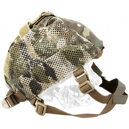 AMA Tactical 500D Nylon Adjustable NVG Light Mesh Cap - CAMO