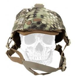 AMA Tactical 500D Nylon Adjustable NVG Light Mesh Cap - MAD