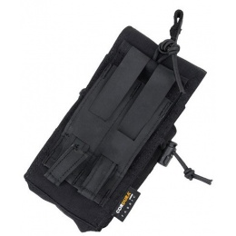 AMA Tactical 500D Nylon MOLLE MBITR Radio Pouch - BLACK