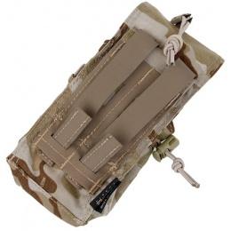 AMA Tactical 500D Nylon MOLLE MBITR Radio Pouch - CAMO ARID