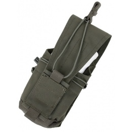 AMA Tactical 500D Nylon MOLLE MBITR Radio Pouch - RANGER GREEN