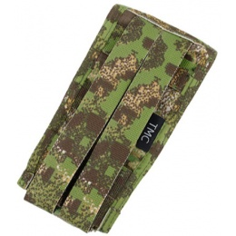 AMA Tactical Airsoft M4 Vertical Magazine Pouch - PC GREEN