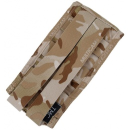 AMA Tactical Airsoft M4 Vertical Magazine Pouch - CAMO ARID