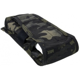 AMA Tactical Airsoft M4 Vertical Magazine Pouch - CAMO BLACK