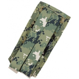 AMA Tactical Airsoft M4 Vertical Magazine Pouch - WOODLAND DIGITAL