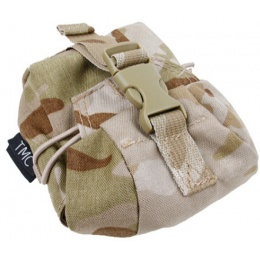 AMA Tactical Airsoft SP5 Frag Grenade Pouch - CAMO ARID
